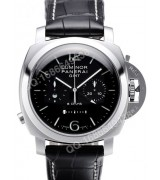 Panerai PAM 00275 Lmninor 1950 GMT Chrono Monopulsante 8 Days Mens Automatic Swiss 7750