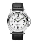 Panerai Luminor Marina 8 Days Acciaio Mechanical White Dial Mens Watch PAM00563