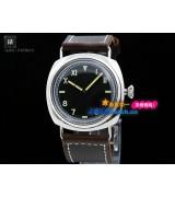 Panerai PAM 00448 Radiomir Mens Automatic Stainless Steel Black Swiss 7750(Deep Brown)