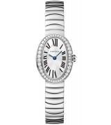 Cartier Baignoire WB520025 Ladies Quartz Silver Swiss ETA Quartz