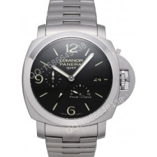 Panerai PAM 00347 Lmninor 1950 3 Days GMT Mens Automatic Swiss 7750