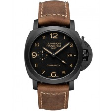Panerai Luminor GMT Ceramica PAM00441 Replica Automatic Watch 44MM