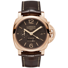 Panerai Luminor 8 Days GMT PAM00576 Replica Hand-Wound Watch 44MM