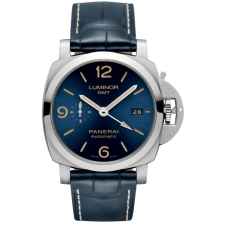 Panerai Luminor GMT PAM01033 Replica Automatic Watch Blue 44MM