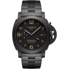 Panerai Luminor GMT Tuttonero PAM01438 Replica Automatic Watch 44MM